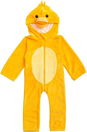 HollyHOME Baby Duck Romper Cosplay Costume Onesie Jumpsuit Pajamas