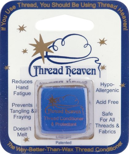Thread Heaven Single Pack on Card- Long Lasting Thread Conditioner- DISCONTINUED by Beadalon