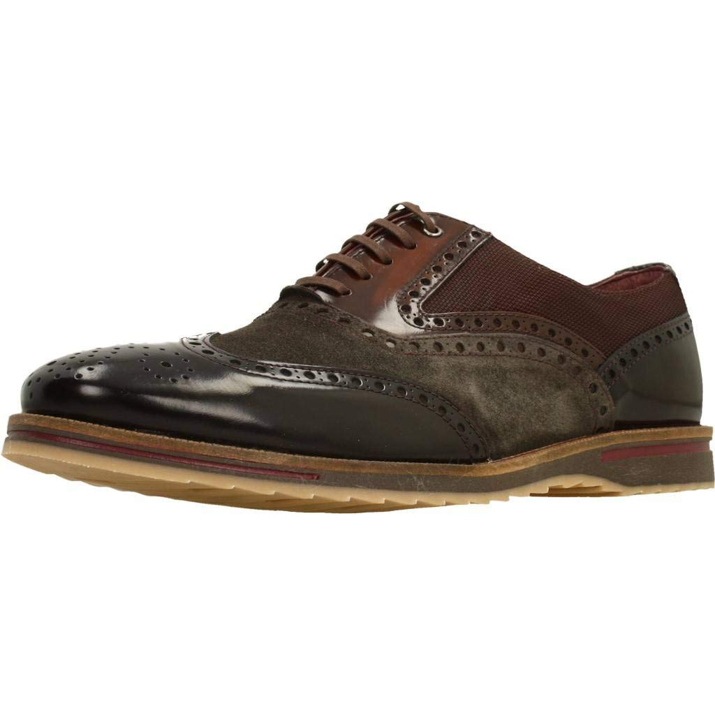 TALLA 42 EU. Zapatos de Cordones para Hombre, Color Azul, Marca CETTI, Modelo Zapatos De Cordones para Hombre CETTI C1029INV19 Azul