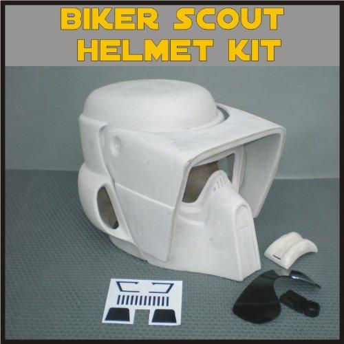 Star Wars Scout Trooper Costume (Biker Scout Trooper Helmet Prop Kit for Star Wars Collectors)