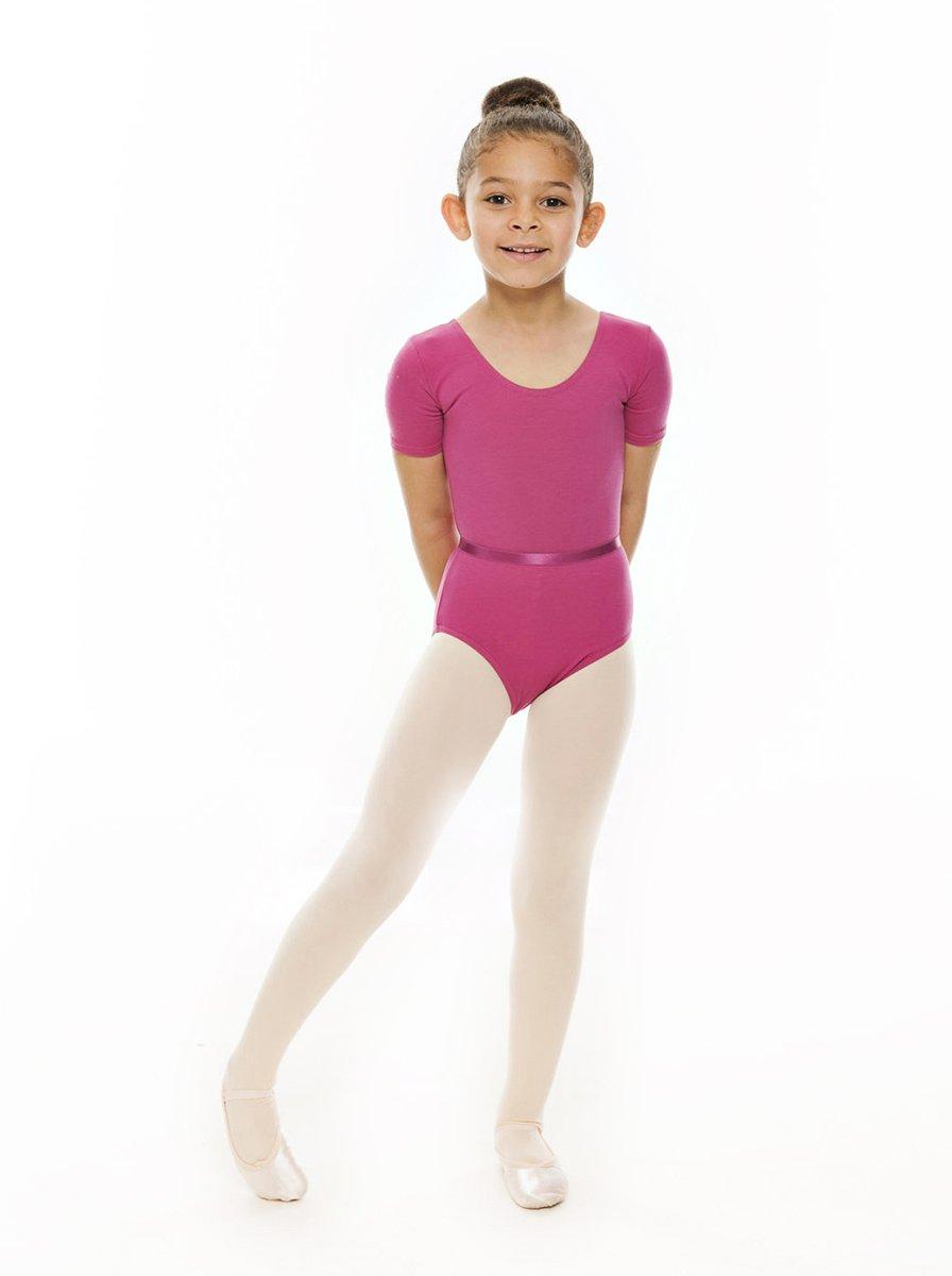 All Colours Girls Ladies Ballet Dance RAD Cotton Short Sleeved Leotard KDC037 By Katz Dancewear