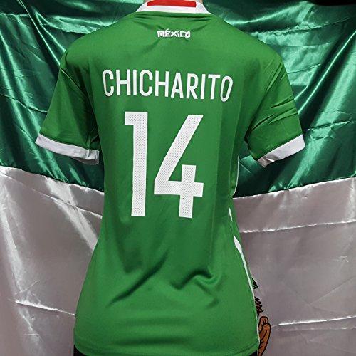 buy popular e6f3e f9e06 New! WOMENS Mexico National Team C. Hernandez Chicharito #14 ...