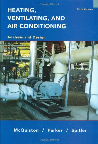 Heating, Ventilating and Air Conditioning Analysis and Design by Brand: Wiley