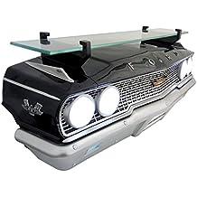 "Wall Shelf, Decorative Wall Shelf for Automotive Car Enthusiasts, Car Shelves (1963 Ford Galaxie 500 427) 19"" W x 71/2 ""H x 6.5"" D weight 7 lbs."