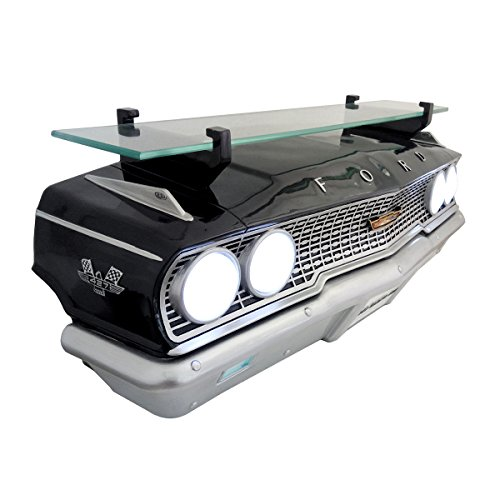 "Wall Shelf, Decorative Wall Shelf for Automotive Car Enthusiasts, Car Shelves (1963 Ford Galaxie 500 427) 19"" W x 71/2 ""H x 6.5"" D weight 7 lbs. by Sunbeltgifts"