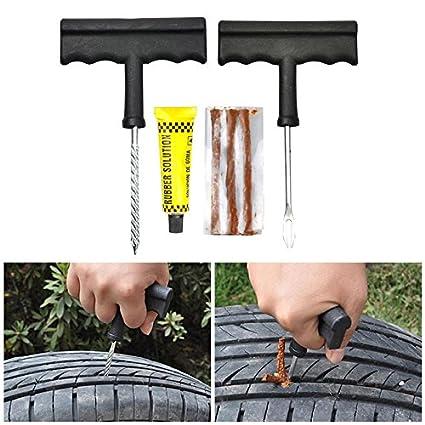 Emergency Tire Repair >> Car Tire Repair Kit Car Tire Repair Tool Kit For Tubeless