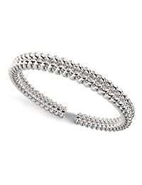 Sterling Silver Braided Rope Pattern Adjustable Toe Band Ring