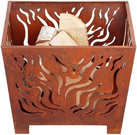 Esschert Design Fire Basket Straight