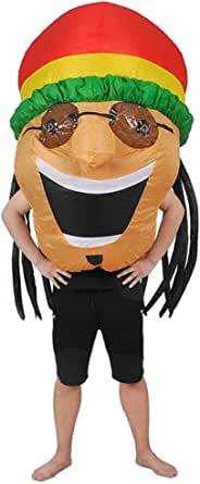 RHYTHMARTS Inflatable Pig Costume Adult Fancy Dress Cosplay Halloween Costumes