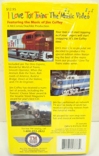 I Love Toy Trains: The Music [VHS]