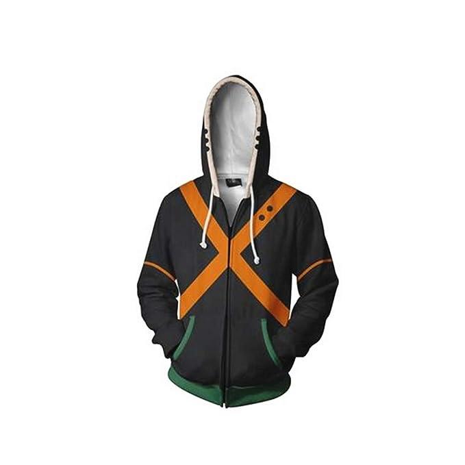 Cosplay - No Hero Academia Naranja | Sudadera con Capucha Tipo ...