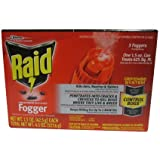 Raid Concentrated  Deep Reach Fogger (pack of 2)