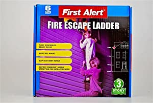 8. First Alert 25 ft. Fire Escape Ladder