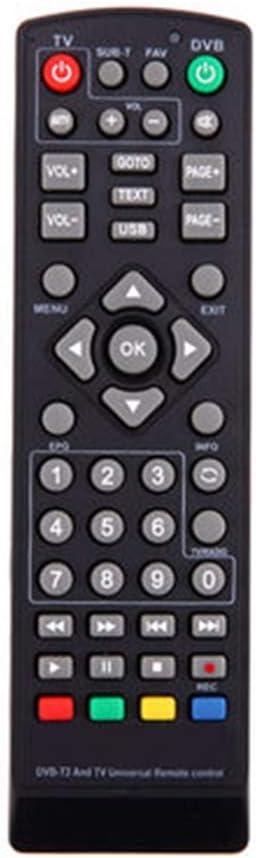 JYL Control Remoto Universal, para Smart 3D LED LCD HDTV Reemplazo de TV Control Remoto de DVD DVB-T2 Control Remoto para Receptor de televisión satelital Uso en el hogar: Amazon.es: Deportes y