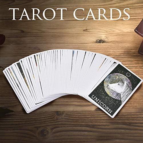 AIMERKUP The Wild Unknown Animal Spirit Deck and Guidebook Tarot Cards Tarjeta de juego de mesa - 63 hojas accepted: Amazon.es: Bricolaje y herramientas