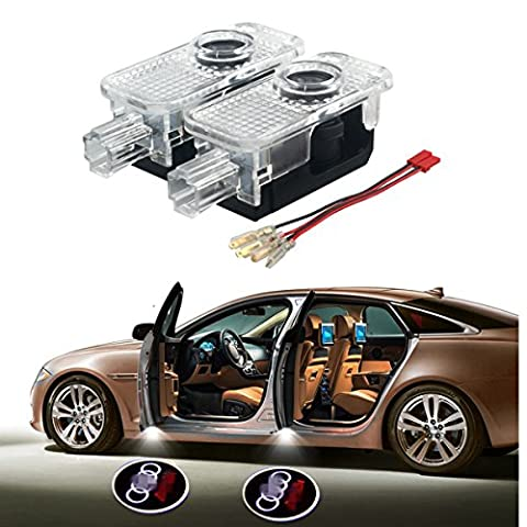 Car Door LED Laser Welcome Light for Audi, YANF Ghost Shadow Logo Projector Courtesy Lights Lamps Kit for Audi A3 A4 B5 B6 B7 B8 A6 C5 C6 Q5 A5 TT and More 2 - Audi A6 Light