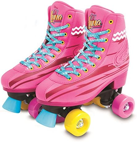 Soy Luna I Am Moon Light Up Skates Roller Training 36 37