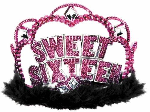 Amscan Sweet 16 Sparkle Tiara Party Supplies