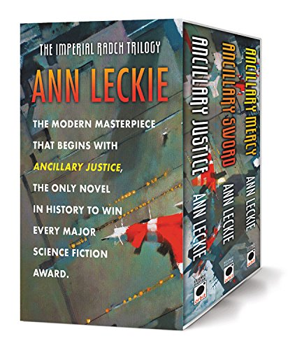 The Imperial Radch Boxed Trilogy: Ancillary Justice, Ancillary Sword, and Ancillary Mercy (The Imperial Radch Trilogy)
