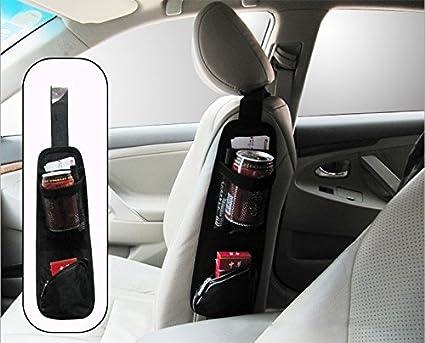 PTCM Auto Car Sedile Lato posteriore archiviazione Pocket Backseat Organizer (Blu) generico