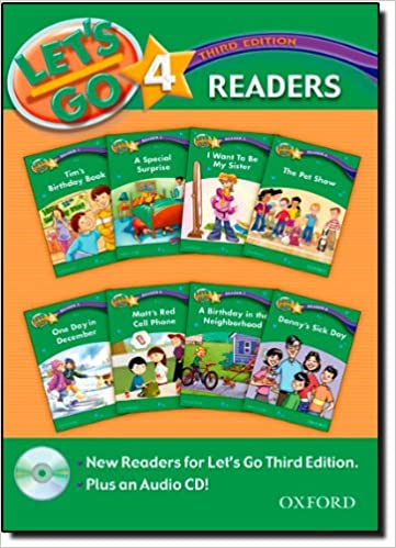 Read Let's Go 4 Readers Pack: with Audio CD (Let's Go Third Edition) PDF
