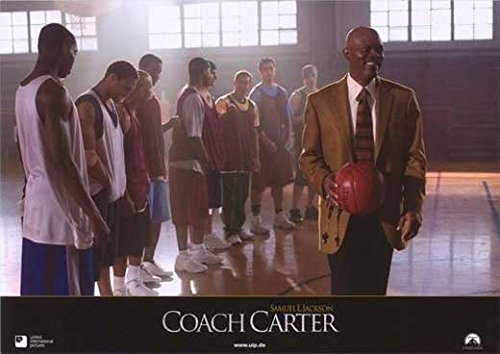 Coach Carter (11 x 14 Poster German C) POSTER (11