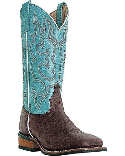 Laredo Womens Mesquite Western Boot Gaucho / Celeste