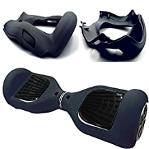 """Silicone Case Cover for 6.5"""" Smart Self Balancing Scooter (Black)"""