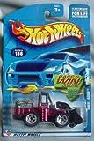 Hot Wheels 2002 Wheel Loader #186 RED Front End Loader
