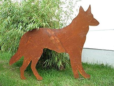 Jardín Inspiration perro zorro gsrten Animales Jardín Conector: Amazon.es: Jardín