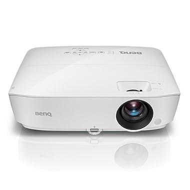 BenQ WXGA Business Projector (MW526AE), DLP, 3300 Lumens, 15,000:1 Contrast, Dual HDMI, 10,000hrs Lamp Life, 71 @7.8ft, 1.2X Zoom, 1280x800