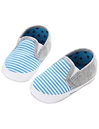 XILALU Baby Unisex Star print lovely First Walkers Anti-slip Shoes