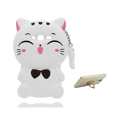 bb9481d9ceb Desconocido Samsung Galaxy Ace 4 Neo G313 Carcasa - TPU Soft Protector  Cubierta Shell - Kitty