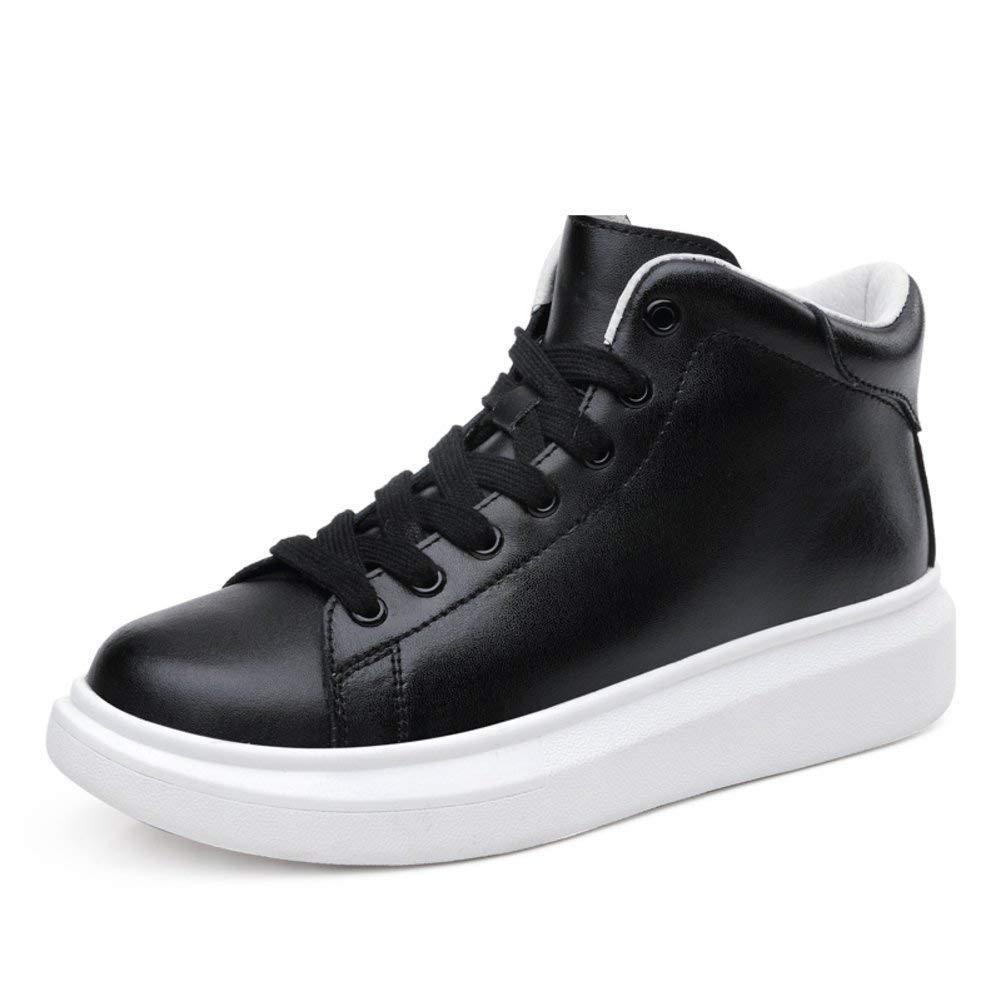 ZCW Chaussures polyvalentes décontractées Shoes Chaussures Hautes, Chaussures Plates, Petites Chaussures Blanches, Chaussures épaisses Chaussures épaisses Longueur du Pied = 22 3 CM (8 8 po)