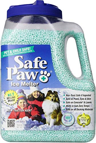 Ice Melter Safe Paw for Dogs & Cats, 8.3-lb Jug