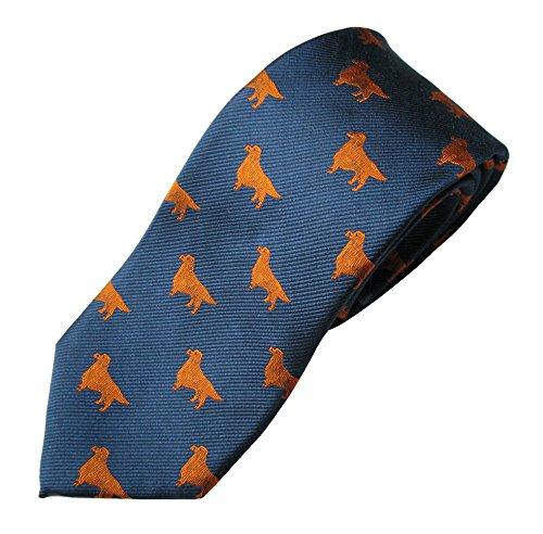 (Golden Retriever Tie (Men's Dog Breed Neck Tie))