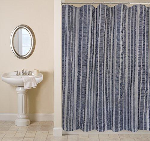 Park B. Smith Seersucker Bands Shower Curtain, 72