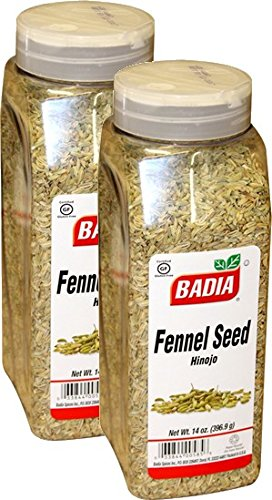 Badia Fennel Seed Whole 14 oz Pack of 2