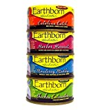 Earthborn Holistic Wet Cat Food Variety Pack - 4 Flavors (Catalina Catch, Harbor Harvest, Chicken Catcciatori, and Monterey Medley) - 3 Ounces Each (12 Total Cans) Larger Image