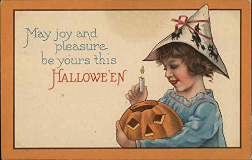 (May Joy And Pleasure Be Yours This Halloween Original Vintage)