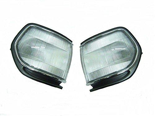 80 Series Light (New~Toyota Landcruiser 80 Series Indicator White Parking Corner Light lamp Lamps)