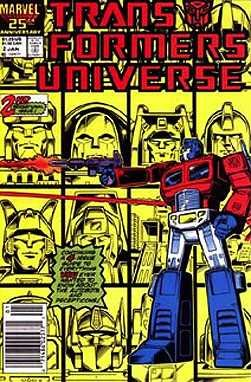 Transformers Universe Comic (Transformers Universe #2 (Marvel Comic Book 1987))