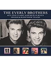 Five Classic Albums/Bonus Singles/ Radio Tracks/ Everly Brothers,The