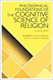 img - for Philosophical Foundations of the Cognitive Science of Religion: A Head Start (Scientific Studies of Religion: Inquiry and Explanation) book / textbook / text book