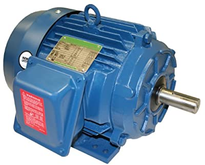 A.O. Smith T57028 2 HP, 1800 RPM, 230/460 Volts, 145T Frame, TEFC Enclosure General Purpose Three Phase Motor
