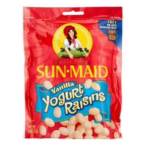 Sun-maid Yogurt Raisins (Pack of 18)