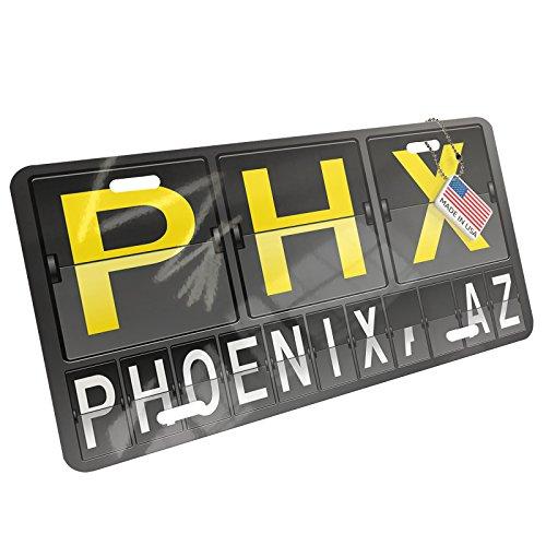Metal License Plate PHX Airport Code for Phoenix, AZ - - Airport In Phoenix Az