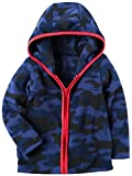 Carters Boys Full-Zip Hooded Fleece Jack
