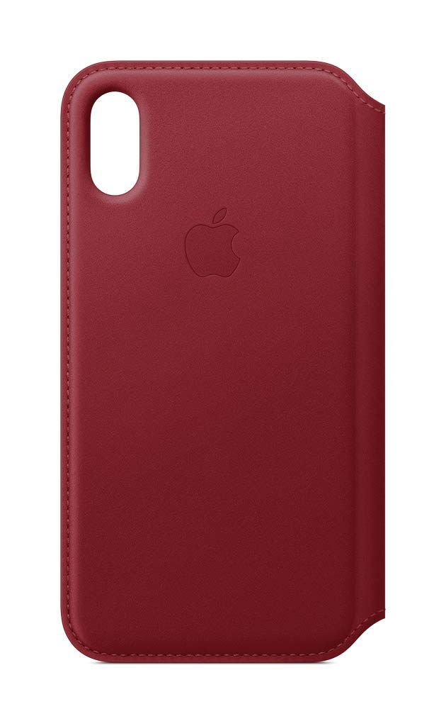 Apple Folio Case for iPhone XS - Red