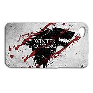 Game of Thrones Cute Wolf Cool Hard Plastic Case for iPhone 5 5s case
